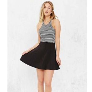 Urban Outfitters Kimchi Blue Swingy Black Skirt.